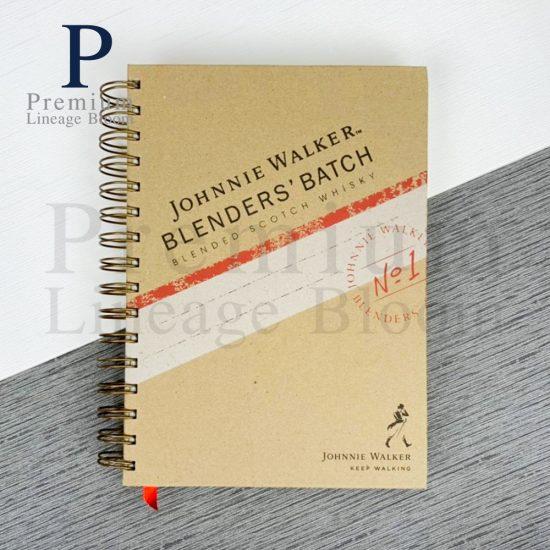 สมุดโน๊ต johnnie walker