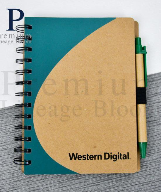สมุดโน๊ตรีไซเคิล Western Digital