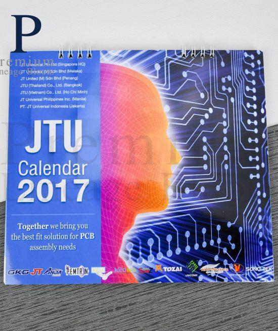 ปฏิทินตั้งโต๊ JTU