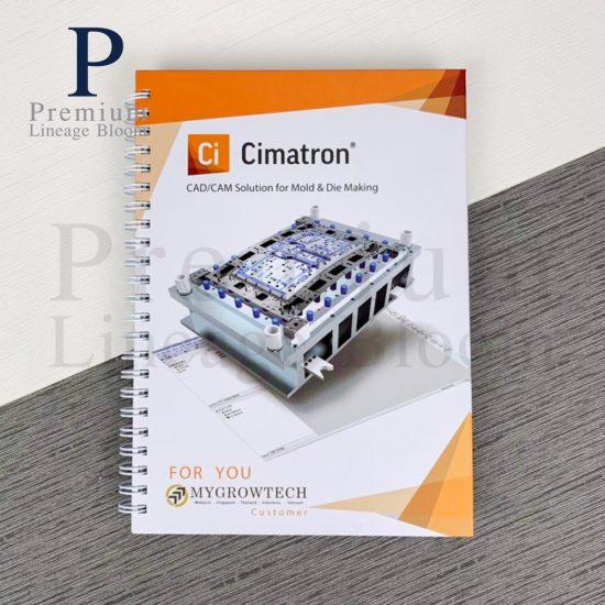 สมุดโน๊ต Cimatron