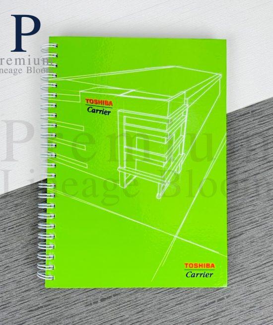 สมุดโน๊ต Toshiba carrier